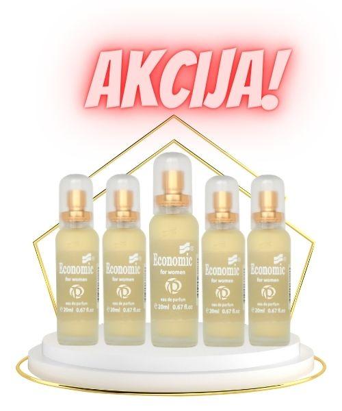 Akcija paket TOP 5 min Economic parfumi - parfum 552 | popusti do 33%